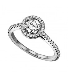 1/3 ctw Diamond Engagement Setting