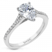 Simon G LR2507-PR Pear Engagement Setting